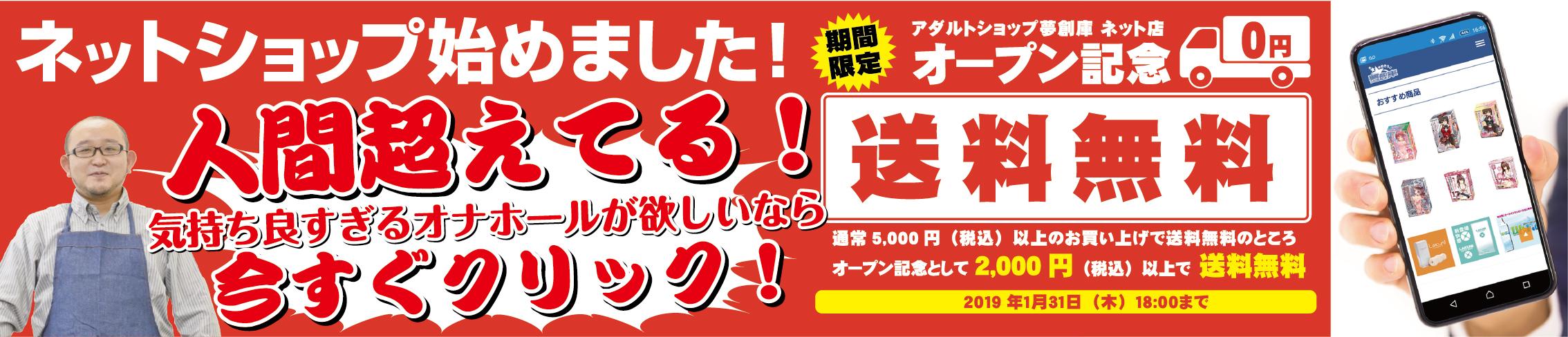 大阪で大人のおもちゃ・大人の玩具・アダルトグッズの夢創庫のオナホレビュー